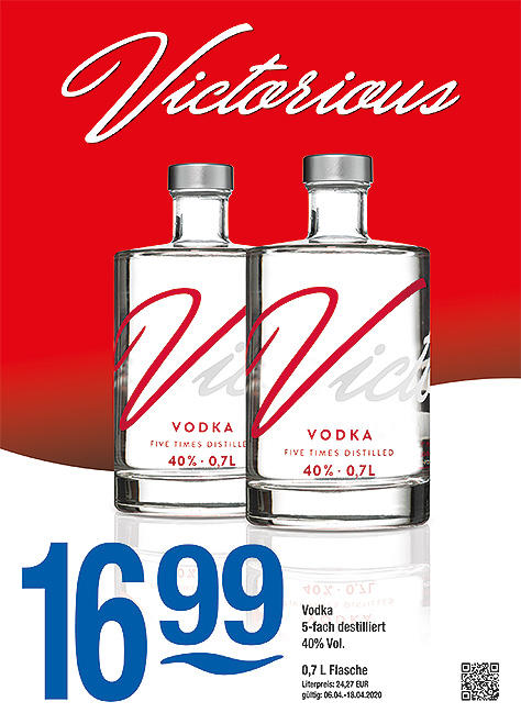 Victorious Vodka 0,7