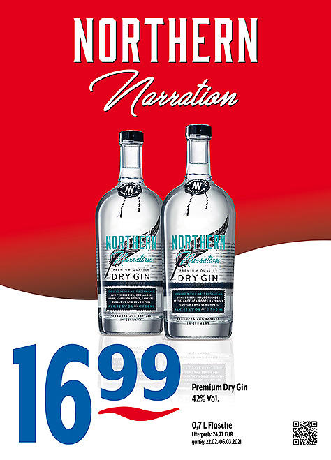 Northern Narration Premium Dry Gin